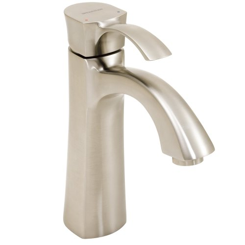 Speakman SB-1811-E-BN Tiber Single Lever Bathroom Faucet, Brushed ()