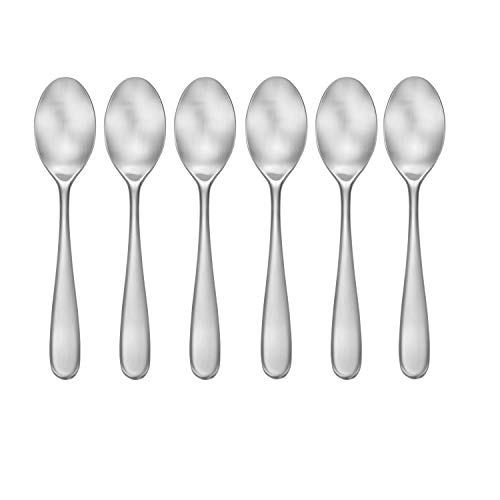CraftKitchen Open Stock Stainless Steel Flatware Sets (Satin Classic, Teaspoons Set of 6)