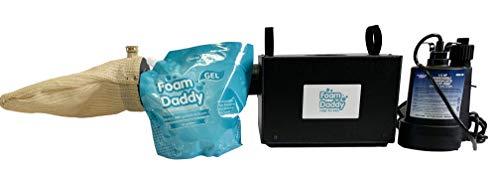 Standard Foam Machine, Gel included Makes 200 gallons of Production, Foam Party Foamdaddy