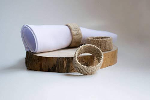 Lodge Napkin - Set of 10 jute napkin ring, rustic napkin rings, twine napkin rings, jute napkin rings, handmade napkin ring, jute serviette rings, burlap napkin ring