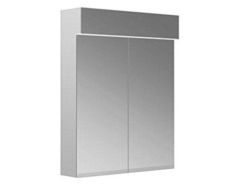 Keuco Spiegelschrank Edition 11 21201, 2-trg.,sil-elox., 700 x 887 mm, 21201171301