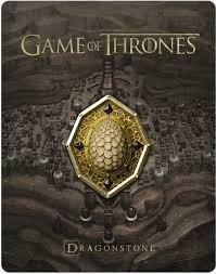 Game Of Thrones  Season Seven Dragonstone Limited Edition Steelbook  Blu Ray Digital Hd  With Cream Dragonstone Magnet And Exclusive 45 Minute Conquest   Rebellion