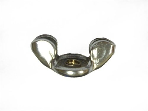 Air Cleaner Wing Nut, Correct Chrome OE Style