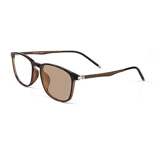 Transition Photochromic Progressive Reading Glasses Computer Reader Retro Nerd Multi Focus No Line Gradual Varifocal UV400 Sunglasses