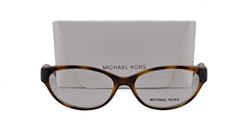 Michael Kors MK8017 Tabitha VII Eyeglasses 52-15-135 Dark Tortoise Glitter w/Demo Clear Lens 3104 MK - Kors Sunglasses Amazon Michael