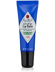 JACK BLACK - Intense Therapy Lip Balm SPF 25 - Green Tea Antioxidants, Long Lasting Treatment, Broad-Spectrum UVA and UVB Protection, Natural Mint & Shea Butter Flavor, 0.25 oz.