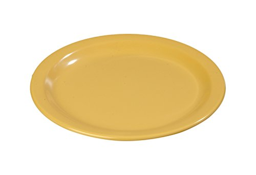 Carlisle (4350122) Dinner Plates, Set of 48 (9-Inch, Melamine, Honey Yellow)