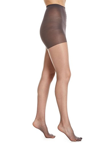 (Donna Karan Hosiery Signature Ultra-Sheer Control Top Pantyhose, Tall, Buff)