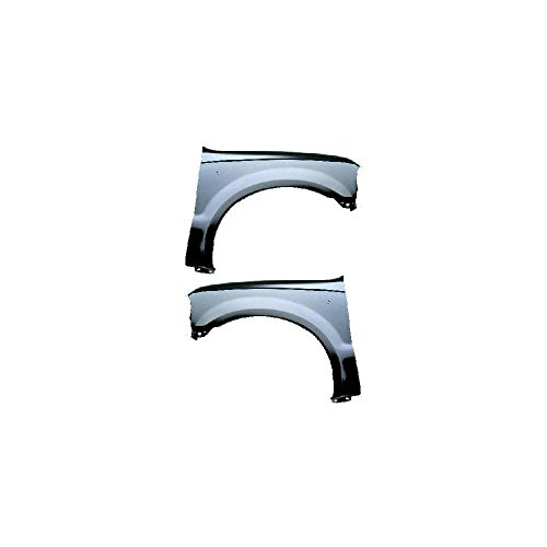 Fender 2001 Right - Fender for 1999-2004 Ford F-450 Super Duty Set of 2 Steel Primed Front Left and Right Side