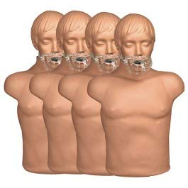 Simulaids Economy Adult Sani-Manikin (4 pk.) with Carry Bag Economy Adult Sani Manikin