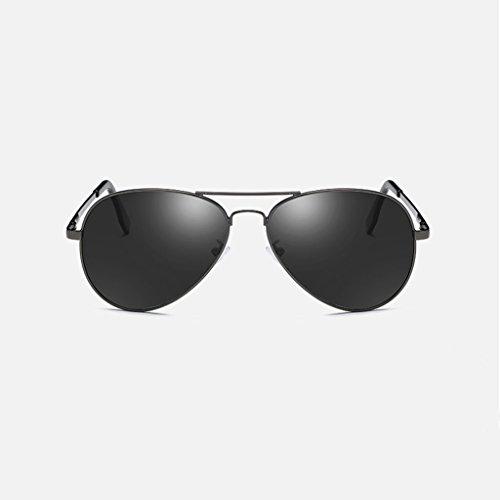 espejo grandes de de Frame clásicas Gray LX Gray colores conducción marco gafas silver y frame rana metálicas Silver moda lens water polarización LSX Gafas femeninas nuevas Color de Lens sol masculinas fxa7Ia