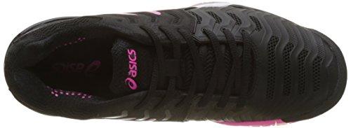de Femme Multicolore Tennis Asics Blacksilverhot 7 Resolution Chaussures Gel Pink nqYUI