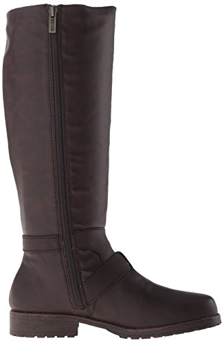 Kenneth Cole Brown REACTION Kenneth Stride Boot Riding Jenny Cole Womens dfEqtzdw