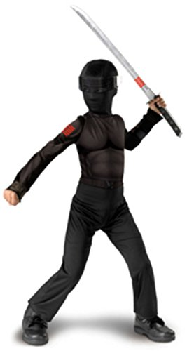 [Snake Eyes Classic - Size: Child L(10-12)] (Cobra Snake Halloween Costumes)