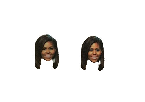 Obama Jewelry - He Said, She Said When They Go Low, We Go High Michelle Obama Stud Earrings