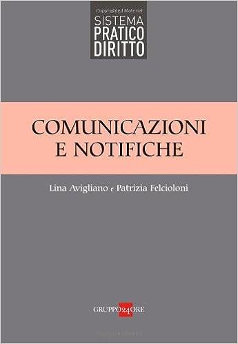 Comunicazione e notifiche (Sistema pratico diritto) (Italian Edition)