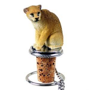 Cougars Bottle - Cougar Bottle Stopper