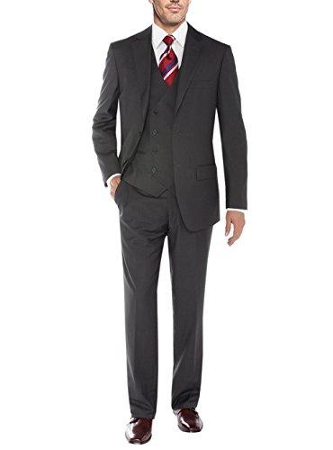 3 Button Vested Suit - 7
