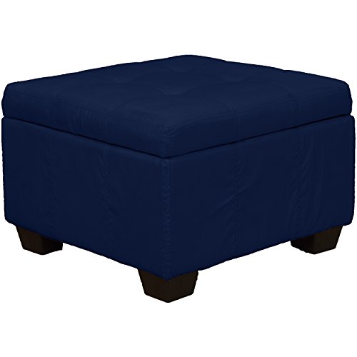 Traditional Upholstered Ottoman - 24