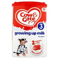 Gate Spoon - Cow & Gate Growing Up Milk for Toddlers 1yr+ 1 x 900g