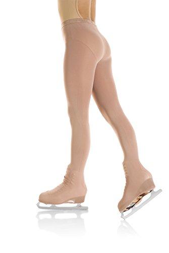 Mondor 3338 Caramel Boot Cover Evolution Figure Skating Tights