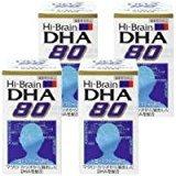 ハイブレーンDHA80 4個 B005P590CO