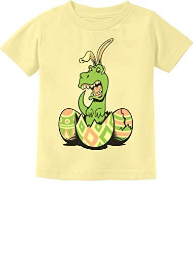 - T-Rex Bunny Easter Egg Funny Gift for Easter Toddler/Infant Kids T-Shirt 6M Banana