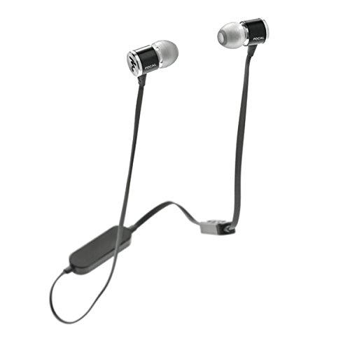 Price comparison product image Focal Spark Wireless In-Ear Headphones with 3-Button Remote and Microphone (Black)