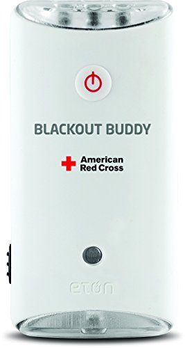 The American Red Cross Blackout Buddy Emergency LED flashlight, blackout alert and nightlight, ARCBB200W-SNG (Rechargeable Light Plugs)