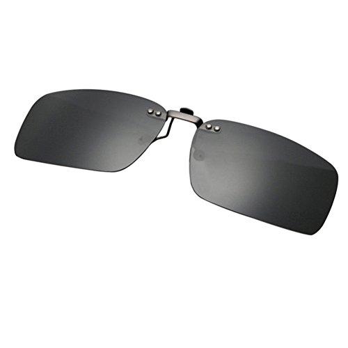 Anti UV400 Mujer Turismo Sunglasses Xinvision Portección Hombre Vintage Rectángulo para de Gafas Polarizadas Eyewear Gris Reflejante Sol XqqPnwz7p