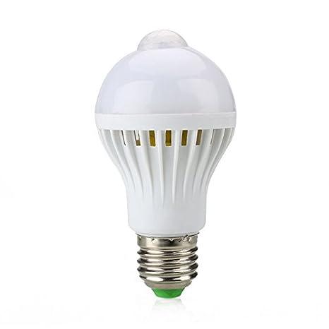 Bulbo de la burbuja de 5W E27 LED, infrarrojo del bulbo de lámpara ligero ahorro