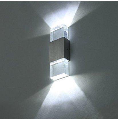 Unimall 6W Illuminazione per Interni Luce Sopra Sotto Lampada da ...