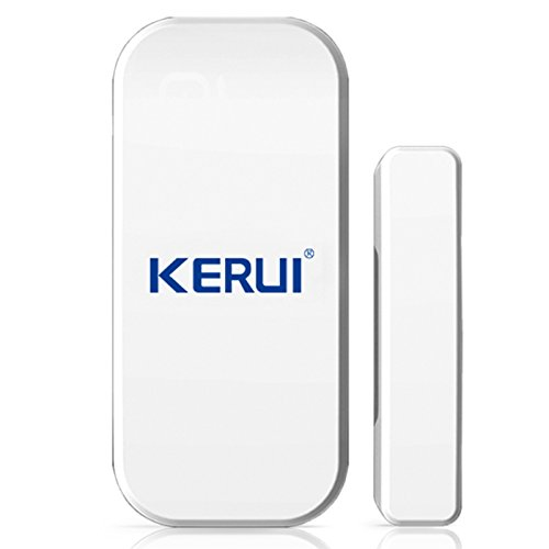 KERUI Wireless Home Doors Windows Security Entry Alarm System – EASY to install FREE BATTIRES Door Sensor for GSM Home Security Alarm System