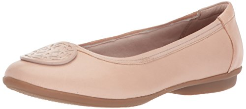 Clarks Women's Gracelin Lola Ballet Flat, Dusty Pink, 6 Medium US