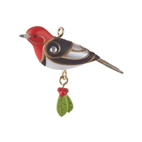 Red-Headed Woodpecker 2013 Hallmark Miniature Ornament