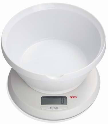 Seca 852 Culina Digital Diet Scale with Bowl by Seca