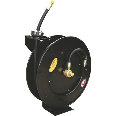 Northern Industrial Tools Grease Hose Reel - 3/8in. x 50ft. Hose, Max. 4000 PSI by ReelWorks