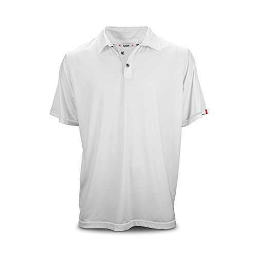 Youth Long-Sleeve 1/4 Zip Performance White/Gray by Marucci