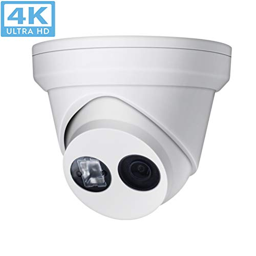 8MP 4K UltraHD Outdoor Security POE IP Camera OEM-DS-2CD2385FWD-I 4mm,EXIR 98ft Night Vision,4mm Fixed Lens Turret Camera, Smart H.265+, SD Card Slot, WDR,DNR, IP67,ONVIF(Support Update)