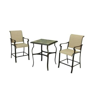 100 hampton bay belleville 7 piece patio dining set villa 7