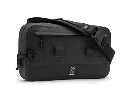 Urban Sling - Chrome Industries Urban Ex Sling Bag - Waterproof Messenger Tote Wear As Crossbody Pack or Waistpack | 10L - Black