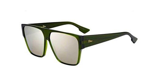 99c1158ee8819 New Christian Dior Diorhit 01ED Green Sunglasses