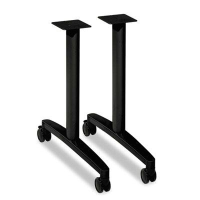 Hon - Huddle T-Leg Base For 24'' And 30'' Deep Table Tops Black ''Product Category: Office Furniture/Meeting/Training Room Tables'' by Original Equipment Manufacture