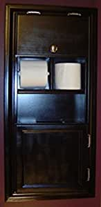 Amazon Com Mpu 5 Recessed Solid Wood Bathroom In The