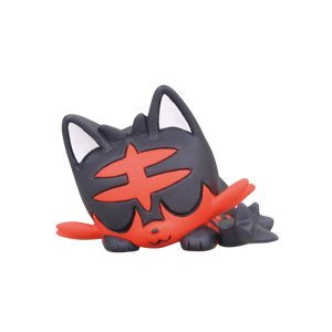 Takara Tomy Pokemon Goodnight Friends Figure Sun and Moon Litten (single)