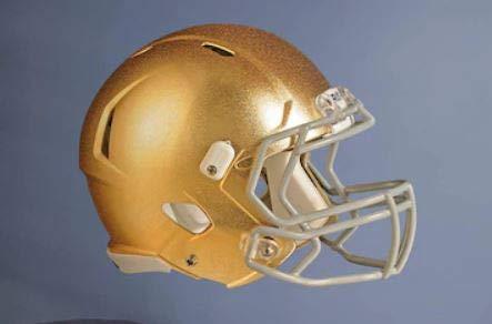 FATHEAD Notre Dame Team Helmet Gold Fighting Irish Official NCAA Vinyl Wall Graphic 23