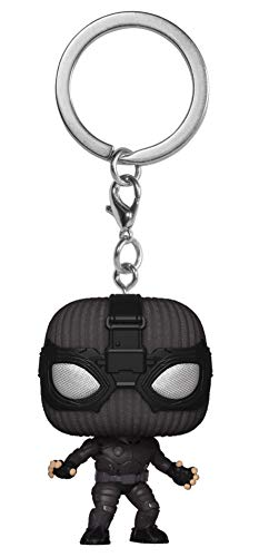 Funko Pocket Pop! Spider-Man Far from Home - Spider-Man (Stealth Suit) Bobble-Head Figure Keychain