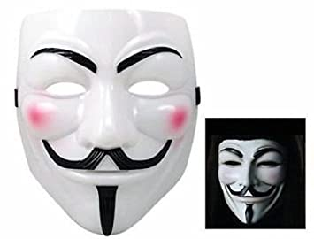 Virtuemart Mascara de V de Vendetta Disfraces Carnaval Halloween Careta Antifaz pelicula