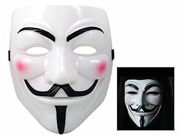 Virtuemart Mascara de V de Vendetta Disfraces Carnaval Halloween Careta Antifaz pelicula
