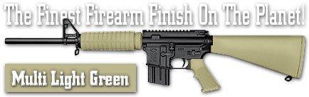 Duracoat Firearm Finish - 4 oz Bottle with Hardener (112 - Multi Light Green) ()